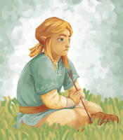 Link -- ZeldaU by fluffycactus123
