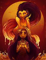 Ava Ire - Ava's Demon by fluffycactus123