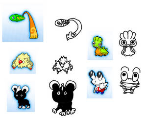epic pokemen doodlez