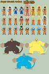 SSA - Goku Forms