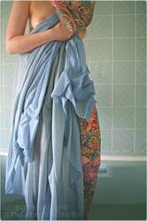 new blue powder for sensitive skin by bopeep2009