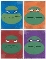 Turtles by StevenCrowe