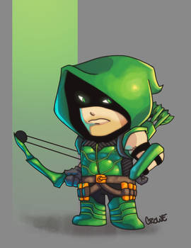 Green Arrow by StevenCrowe