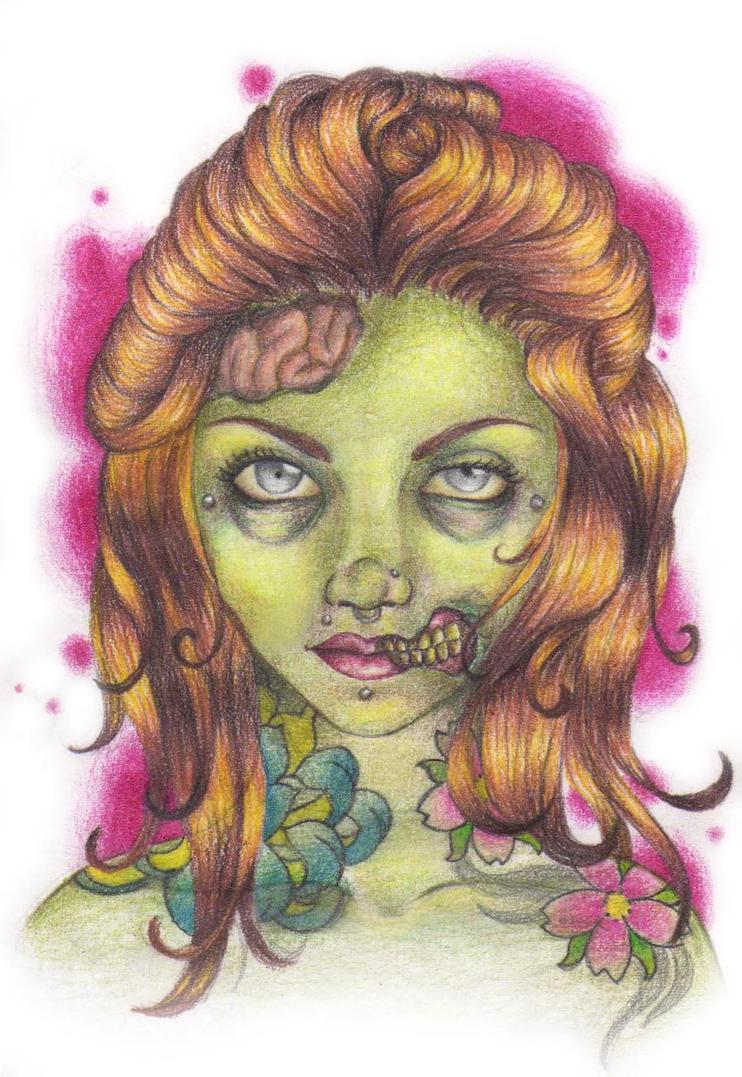 zombie by danisuave