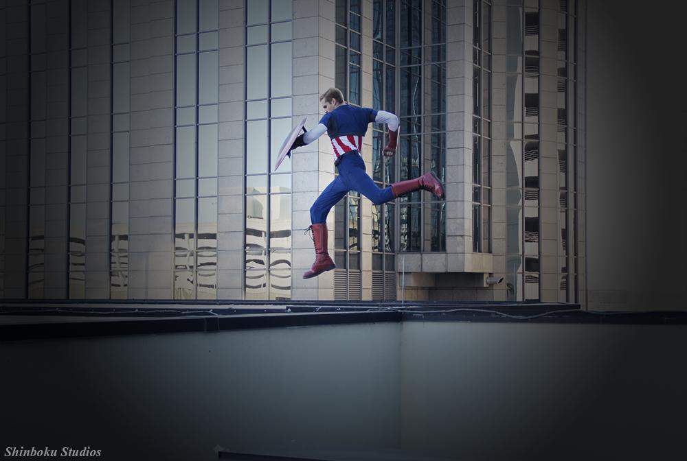 Leap of faith [Captain America] by RisingParadise