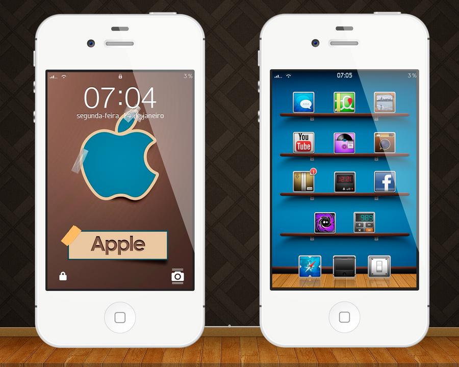 iPhone 4 14.1.13 by locoepoco