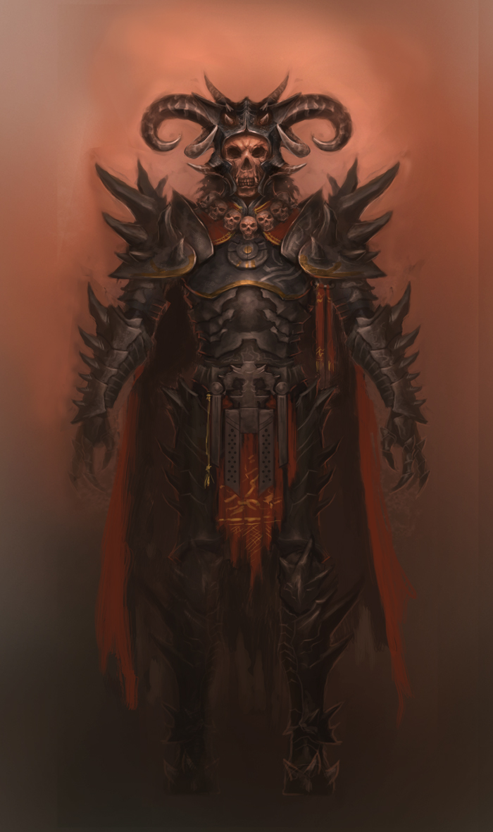 Evil Knight by XiaMan
