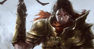 Diablo 3 Demon Hunter by XiaTaptara