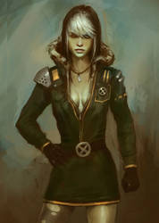 X-men Rogue by XiaTaptara