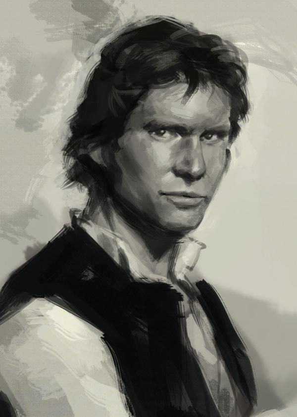 Han Solo by XiaTaptara