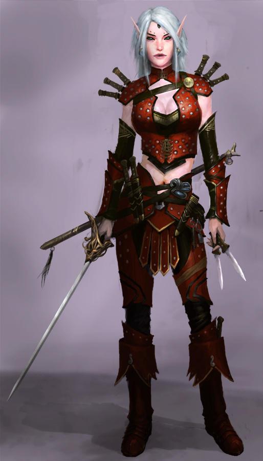 Rogue Elf by XiaTaptara