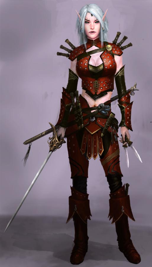 Rogue Elf by XiaMan