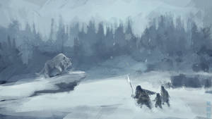 Ice Age speedpainting
