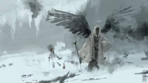 Archangel mage speedpainting