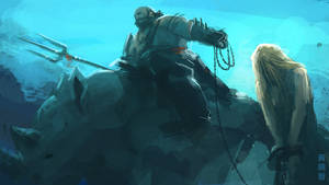 Blonde prisoner speedpaint by XiaTaptara