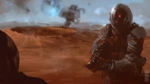 Moon war speedpaint