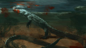 Long tail creature speedpaint by XiaTaptara