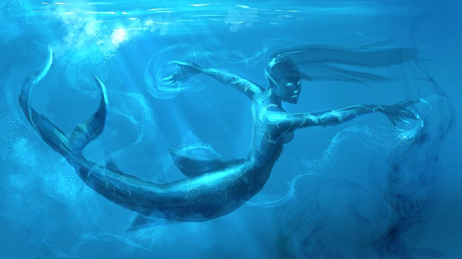 Mermaid-dance by XiaMan
