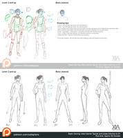 Drawing body and poses tutorial part 1 by XiaTaptara