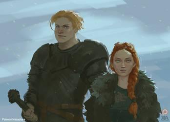 Brienne and Sansa #2