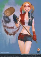Harley Quinn by XiaTaptara