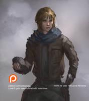 Rogue One Jyn Erso by XiaTaptara