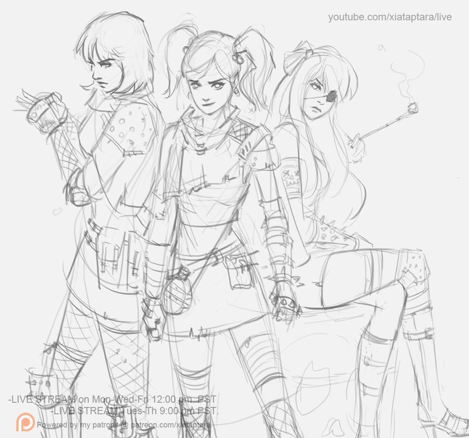 Madmax Powerpuff girls by XiaTaptara