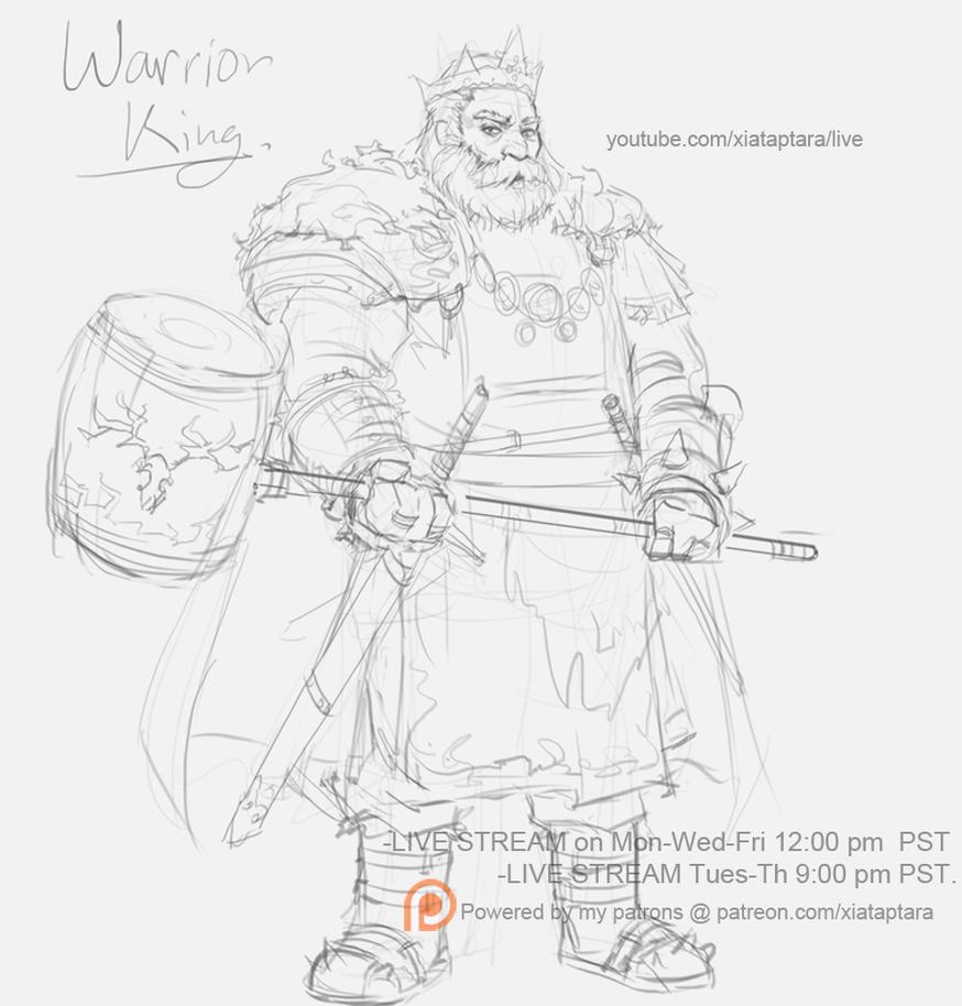 Warriors Live Stream Free Mobile: King Robert 30 Minutes Stream Sketch By XiaTaptara On