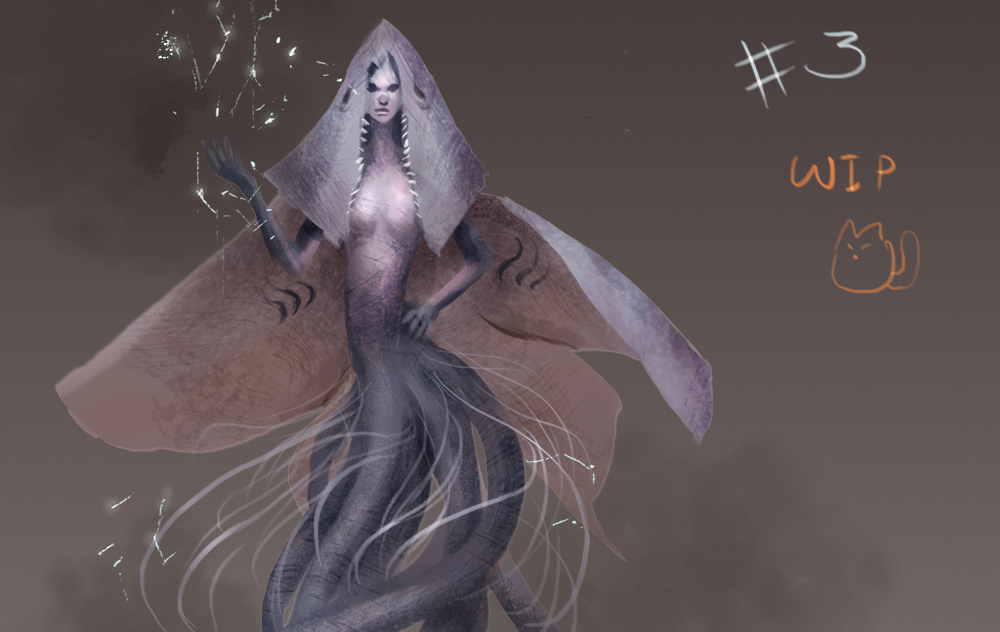 Electric ray lady by XiaTaptara