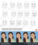 Facial expression tutorial