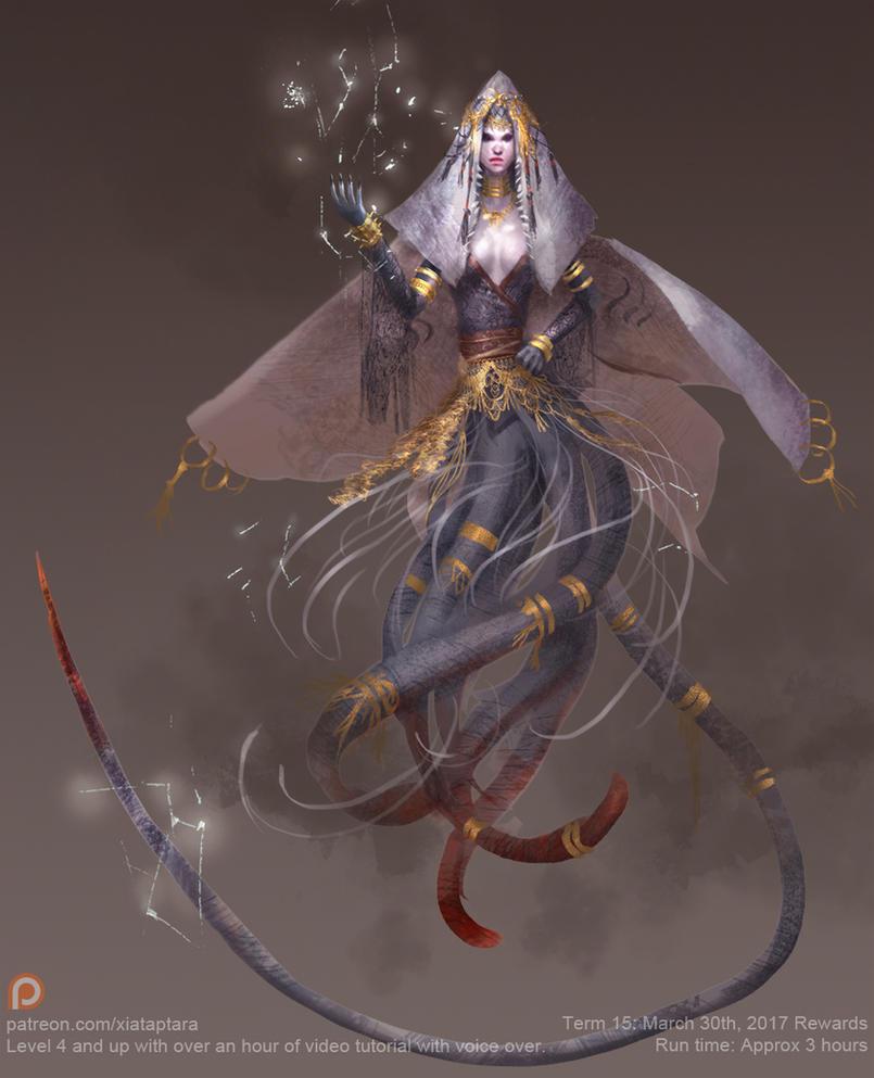 Electric lady ray by XiaTaptara
