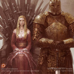Cersei and the mountain