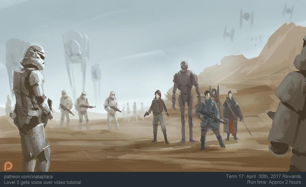 Rogue One speedie by XiaTaptara