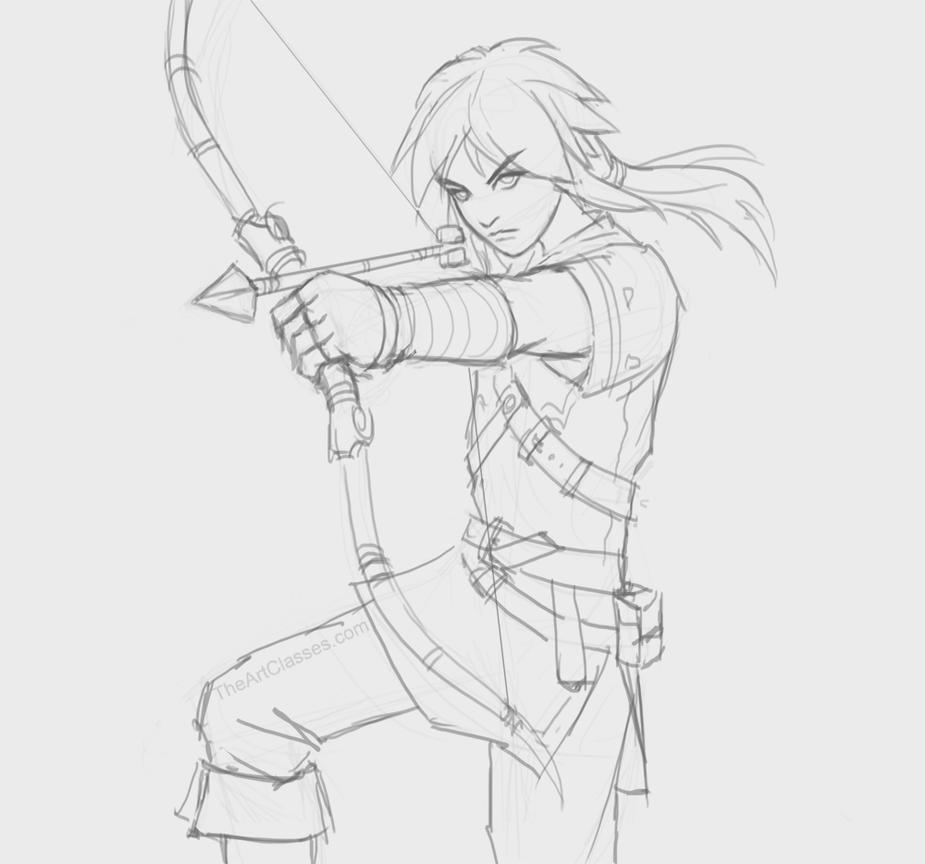 Zelda Link by XiaTaptara