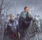 Sansa and Brienne
