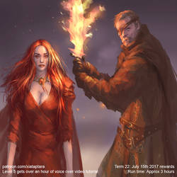 Lightbringer and the Red Woman