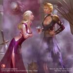 Daenerys and Cersei