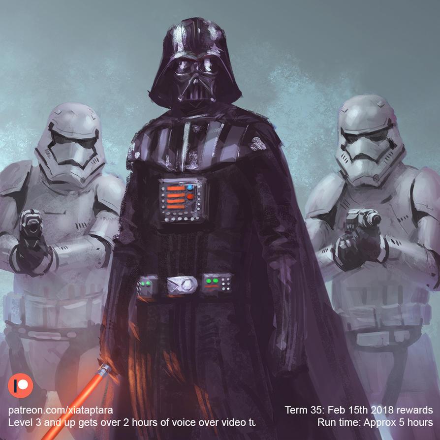 Vader and the gang by XiaTaptara