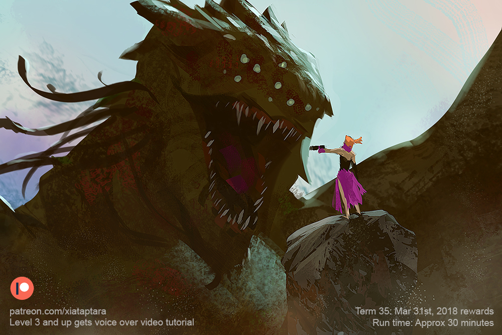 Hunting Monster by XiaTaptara