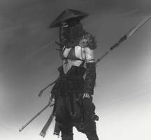 Alone with my spear sketch