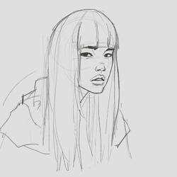 daily sketch portrait drawing 004