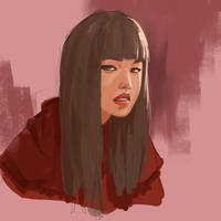 portrait painting tutorial from daily sketch 004