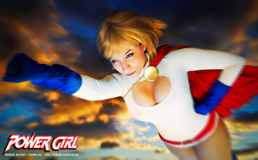 Power Girl - DC Comics by Pinkie-Bunny-Cosplay