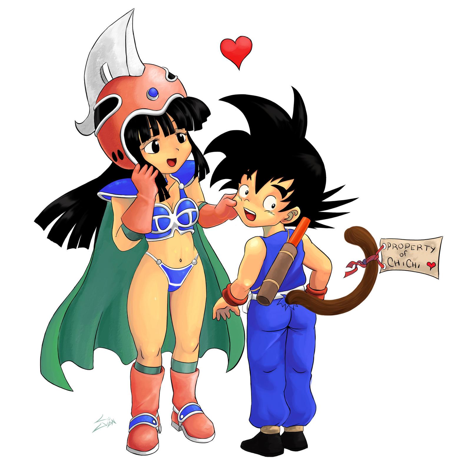 Chichi-Goku Commission by TOMO2012