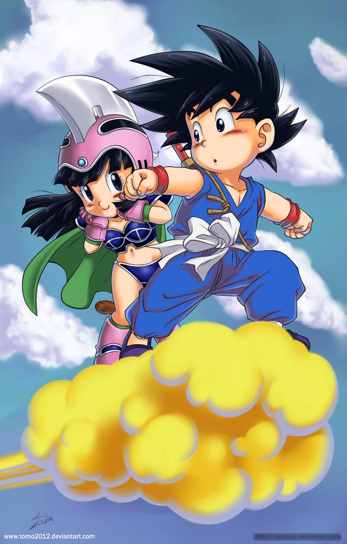 Goku Chichi by TOMO2012