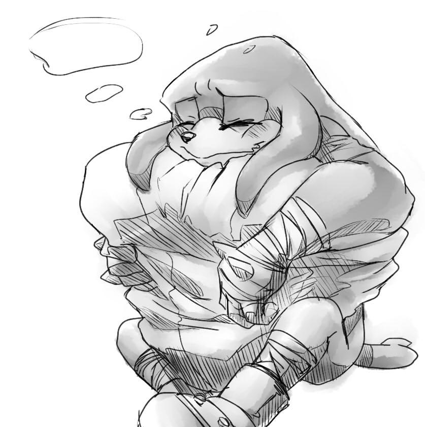 M.E. Plush cuddles by V1ciouzMizzAzn