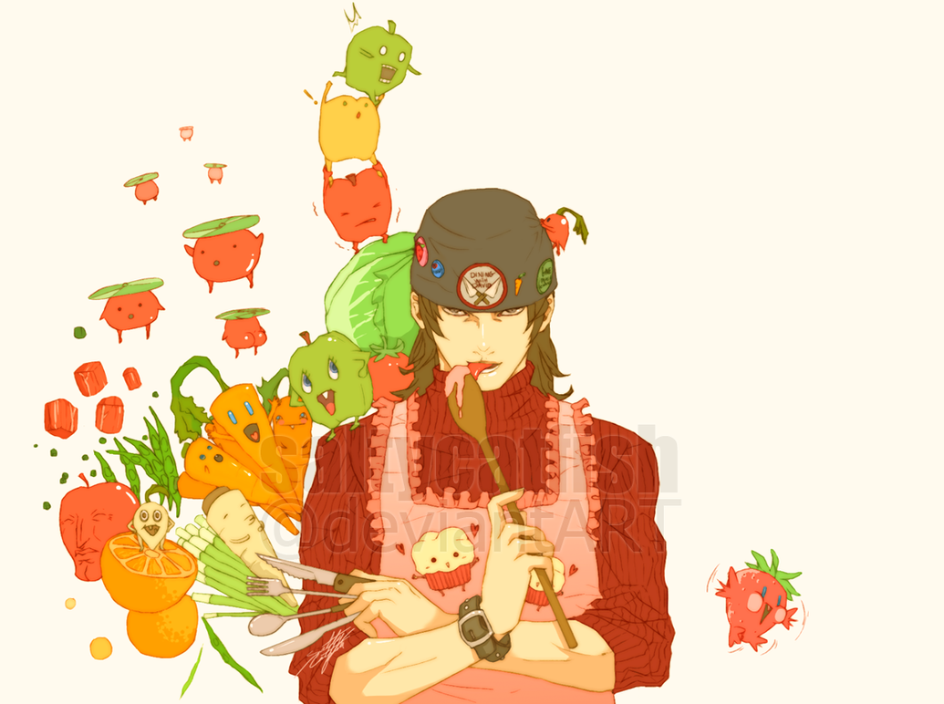 P3: Dining with Shinji by saltycatfish