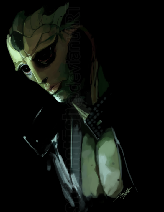 ME2: Thane Krios by saltycatfish