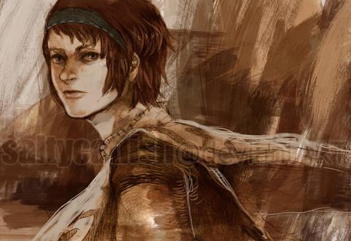 SotC: Wander Sketch