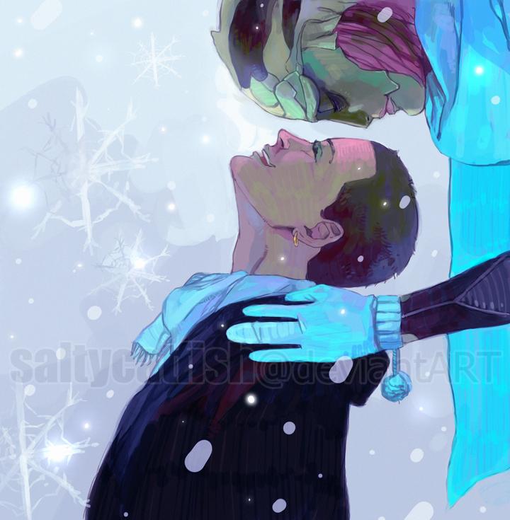ME: Winter by saltycatfish